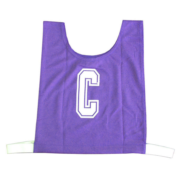 Netball Bib Set - Polyester - Purple