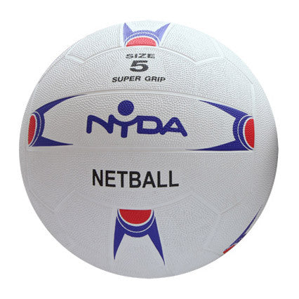 Nyda Rubber/Nylon Training Netball - Size 5
