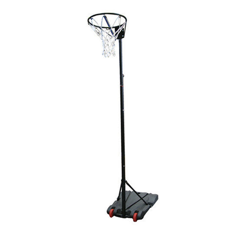 Portable Netball Post - Water Base Black