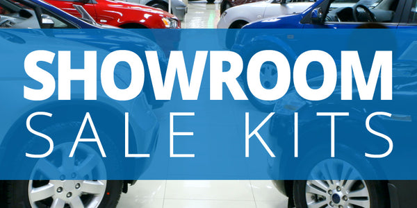 Showroom Car Marketing Sales Kits