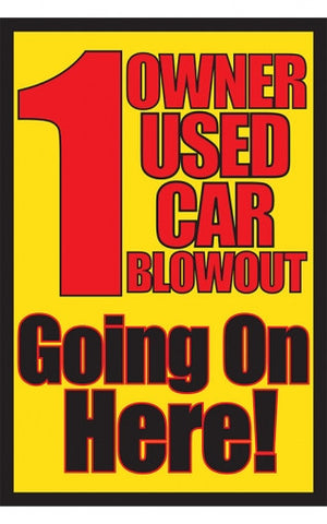 1 Owner Used Car Blowout