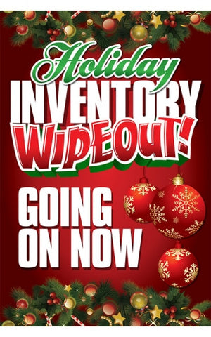 Holiday Inventory Wipeout