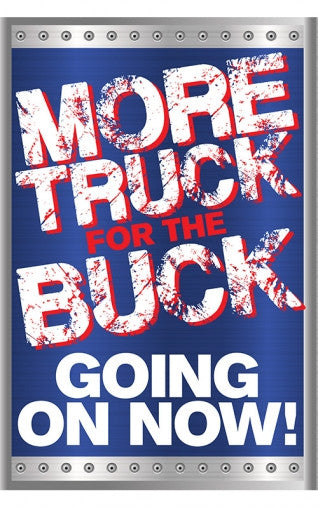 More Truck For The Buck Truck Dealer Marketing Sale In A Box