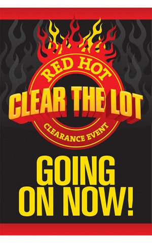 Red Hot Clear the Lot