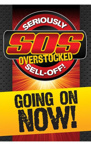 S.O.S. Seriously Overstocked Sell Off