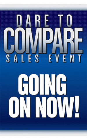 Dare to Compare Sales Event