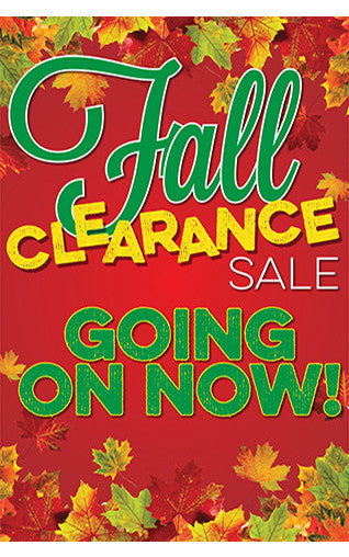 Fall Clearance Sale