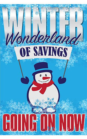 Winter Wonderland of Savings