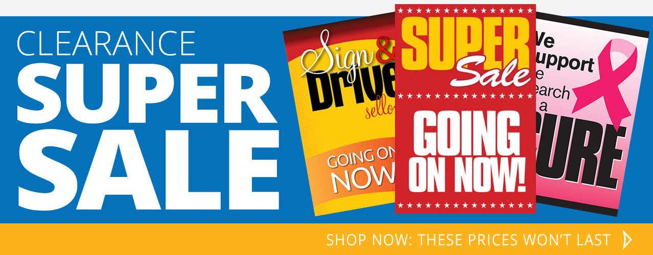 Shop our Auto Showroom Clearance Super Sale!