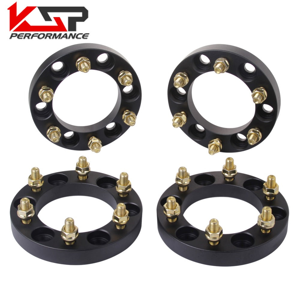 KSP 4Pcs 1 Inch Wheel Spacers 6x5.5 12X1.5 Studs For Toyota KSP 4Pcs 1 Inch Wheel Spacers 6x5.5 12X1.5 Studs For Toyota, Spacer, AutoCapshack.com, AutoCapshack.com - American Eagle Wheel Corp.