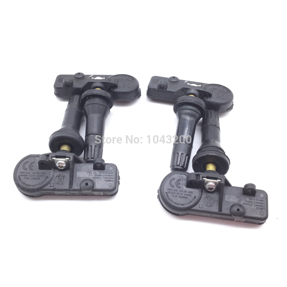 4 pcs Genuine 433Mhz TPMS Tire Pressure Monitor Sensor For Chrysler/Dodge/Jeep 4 pcs Genuine 433Mhz TPMS Tire Pressure Monitor Sensor For Chrysler/Dodge/Jeep, TPMS, AutoCapshack.com, AutoCapshack.com - American Eagle Wheel Corp.