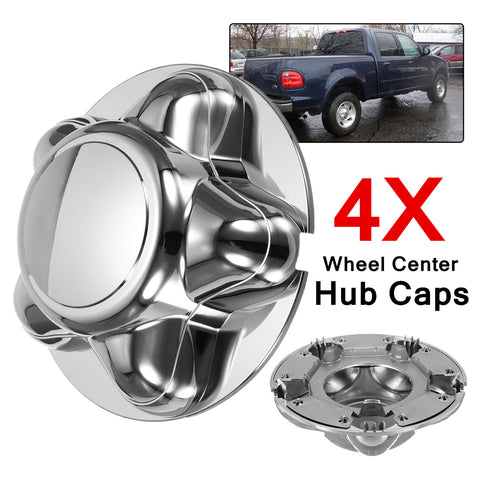 4 Pc. 7'' Chrome Center Caps Ford F150 1997 - 2003 5x135 4 Pc. 7'' Chrome Center Caps Ford F150 1997 - 2003 5x135, Center Cap, AutoCapshack.com, AutoCapshack.com - American Eagle Wheel Corp.