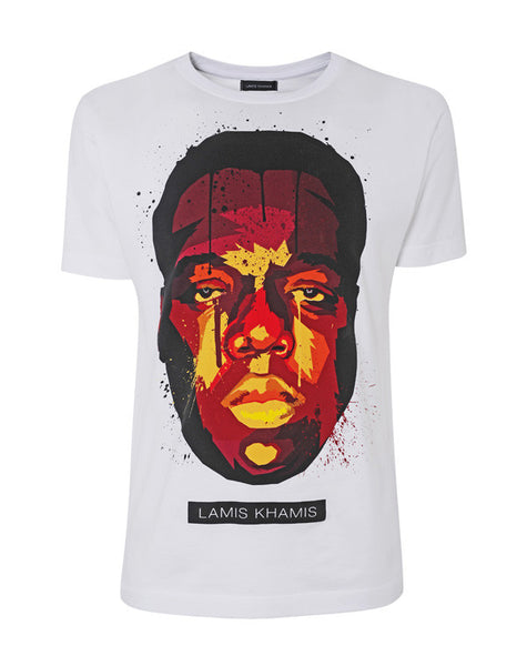 Biggie T-Shirt in White - LAMIS KHAMIS