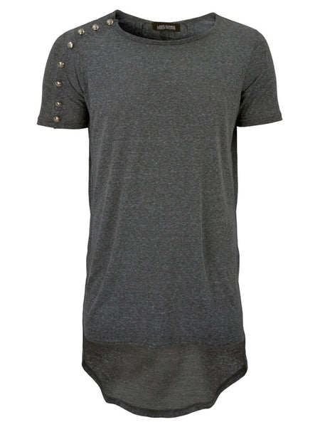 Scoop Neck in Grey - LAMIS KHAMIS