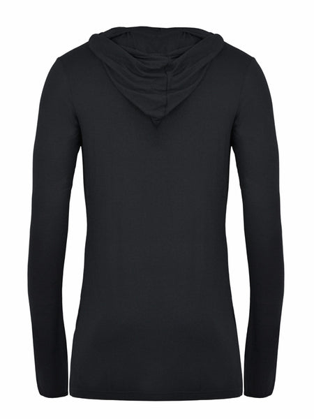 Hooded Glove top in Jersey - LAMIS KHAMIS
