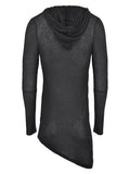Pleated hooded top - LAMIS KHAMIS