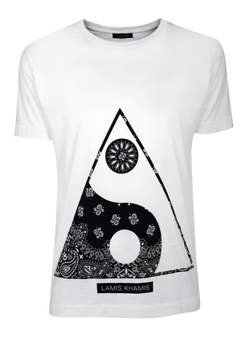 Triangle T-Shirt - LAMIS KHAMIS