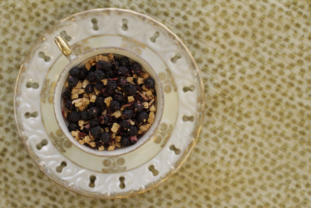 Wonderland Blend (decaf tisane with apple, blueberry, and hibiscus)