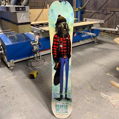 BeaverWax x Wired Snowboards
