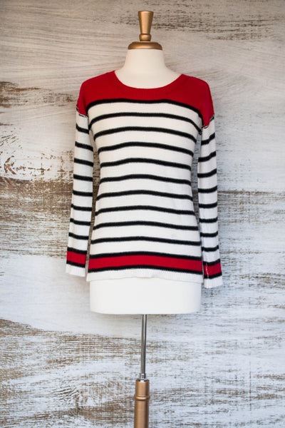 The Pacey Striped Sweater