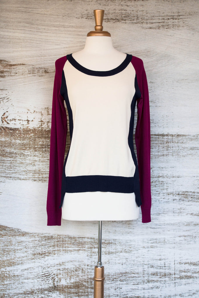 Shake It Off Colorblock Sweater