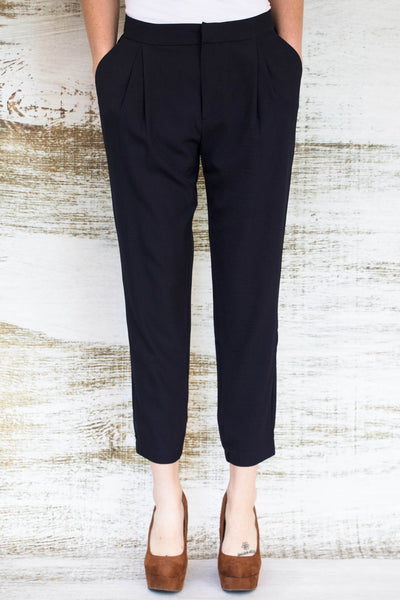 Girl, You're So On-Trend Navy Harem Pant