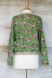 Secret Garden Green Sweatshirt