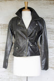 This Is How We Do It Leather Moto Jacket