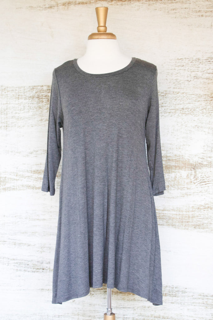 Bee's Knees NEW Quintessential Top Grey