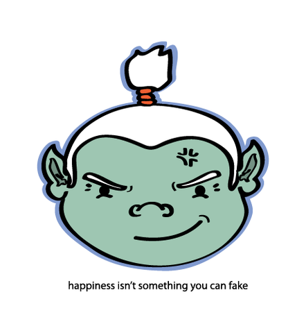 Happiness Isn't
