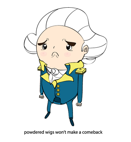 Powdered Wigs