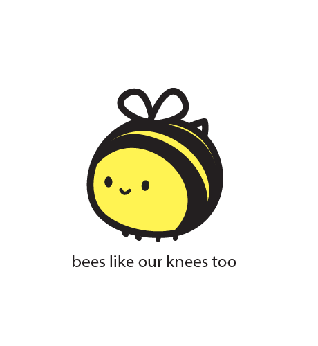 Bees Knees – upside down grin