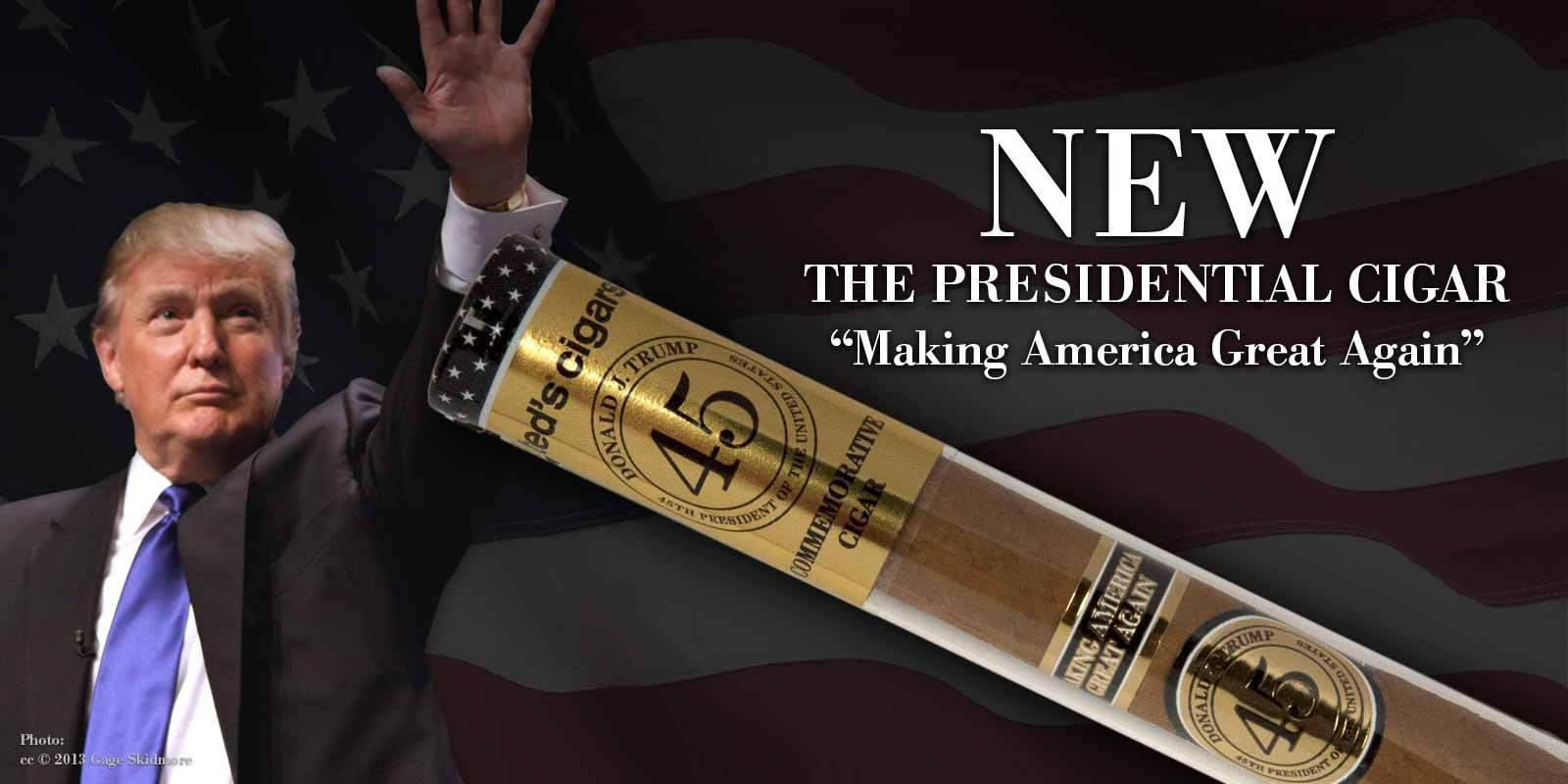 The Trump 2016 Cigar