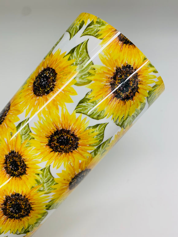 Sunflower Pattern HTV