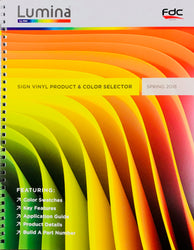 Lumina® by FDC Sign Vinyl Color Chart