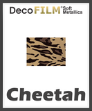 "DecoFilm Soft Metallic Patterns - Heat Transfer Vinyl - 19.5"" x 10 Yds"