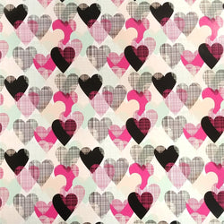 "12""x15"" Sheet - Colorful Hearts PSV"