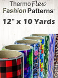 "ThermoFlex® Fashion Patterns 12"" x 10 Yards"