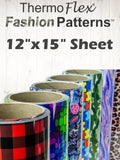 "ThermoFlex® Fashion Patterns 12"" x 15"" Sheet"