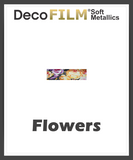 "DecoFilm Soft Metallic Patterns - Heat Transfer Vinyl - 19.5"" x 25 Yds"