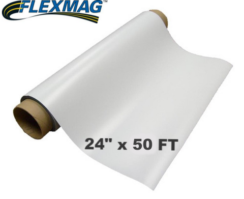 30 mil Printable Magnetic sheeting ---- 50 FT ROLL