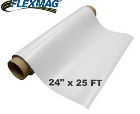 30 mil Printable Magnetic sheeting ---- 25 FT ROLL
