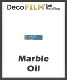 "DecoFilm Soft Metallic Patterns - Heat Transfer Vinyl - 19.5"" x 30 Yds"