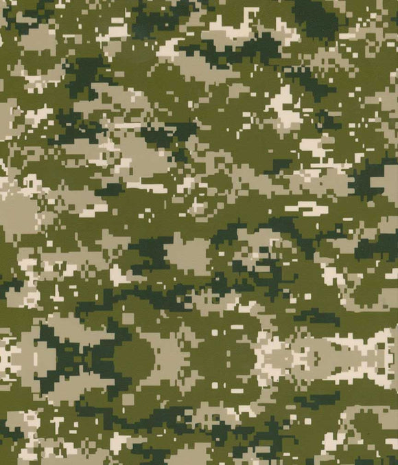 Green Digital Camo