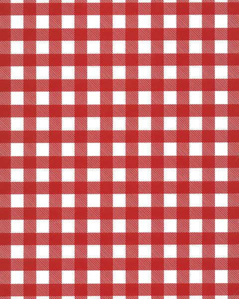 Buffalo Plaid - White/Red