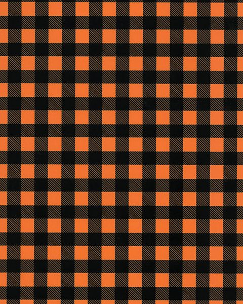 Buffalo Plaid - Orange