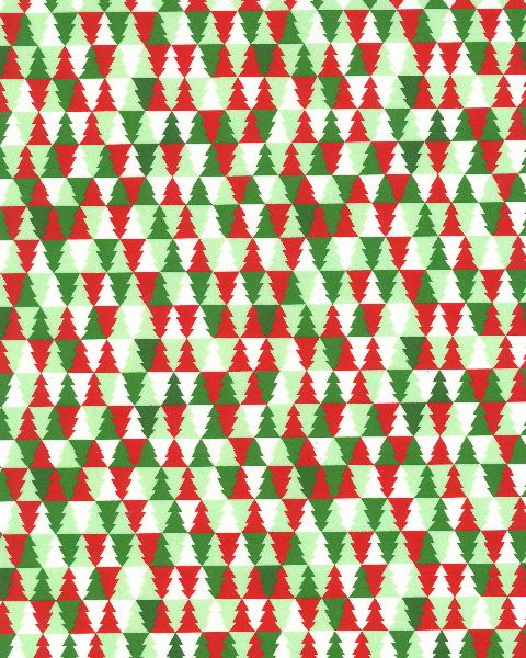 Christmas Trees - Red/Green