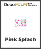 "DecoFilm Soft Metallic Patterns - Heat Transfer Vinyl - 19.5"" x 54 Yds"