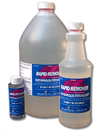 Rapid Remover Removal Fluid - Quart w/ Sprayer