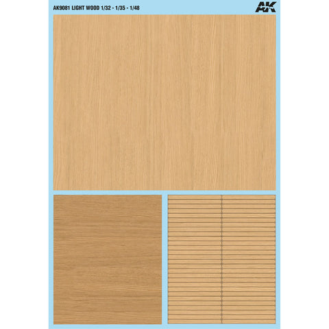 AKI LIGHT WOOD DECALS